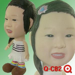 Q-C82-小白公主女孩公仔